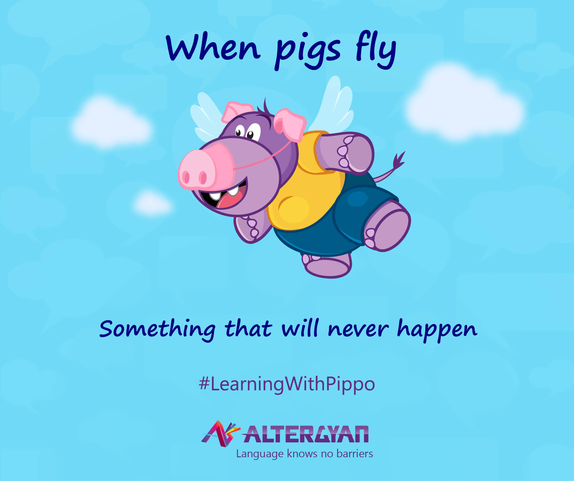 English Idioms Learning English Idioms With Pippo Altergyan