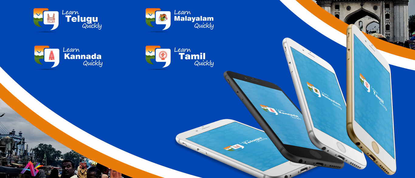Tamil Telugu Kannada Malayalam