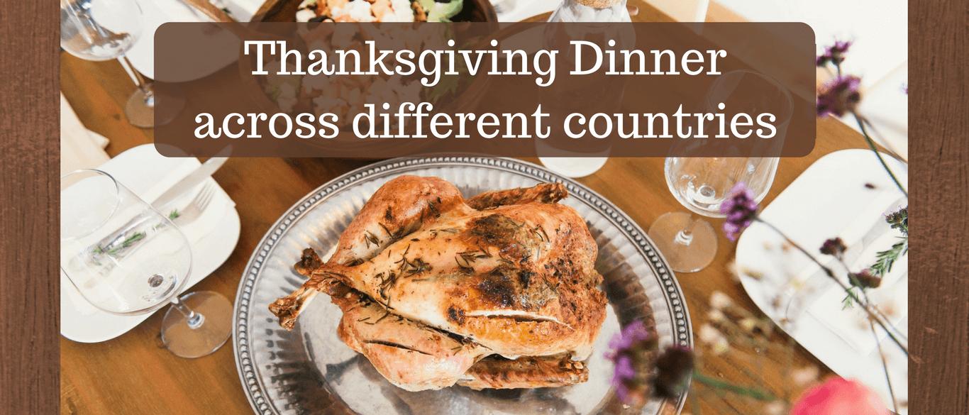 Thanksgiving feast celebration