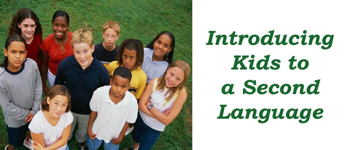 Introducing kids to second language