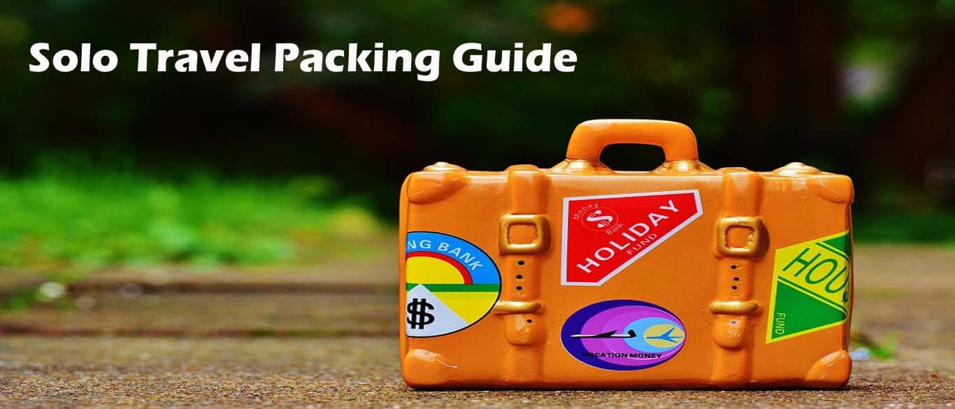 Solo travel packing guide