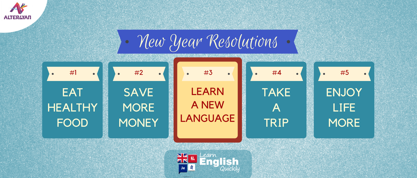 New Year Resolutions - Learn A New Language